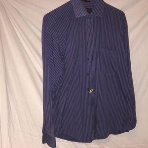 IKE stripe dress shirt